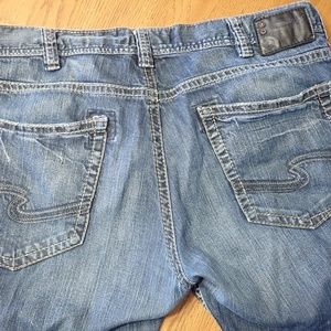 Men's Silver Zac Jeans 41x31